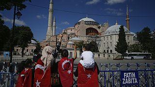 """Erdoğan zur Hagia Sophia: """"Befreiung von Ketten der Sklaverei"""""""
