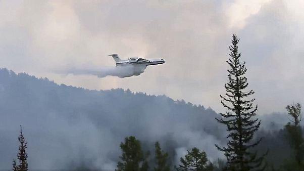 Μεγάλες δασικές πυρκαγιές στη Σιβηρία
