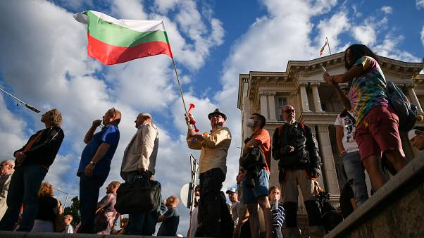 Thousands of Bulgarians are demanding their 'Mafia' style government resigns.