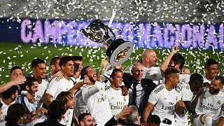 El Real Madrid y su afición ganan la Liga del coronavirus
