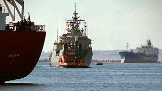 """Operazione Irini nel Mediterraneo: la """"San Giorgio"""" è nave ammiraglia"""