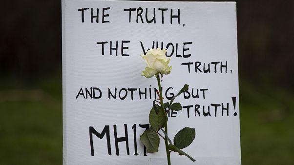 Πλακάτ για την πτήση MH17