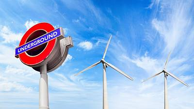 The London Underground could soon be powered by 100 per cent renewable energy.
