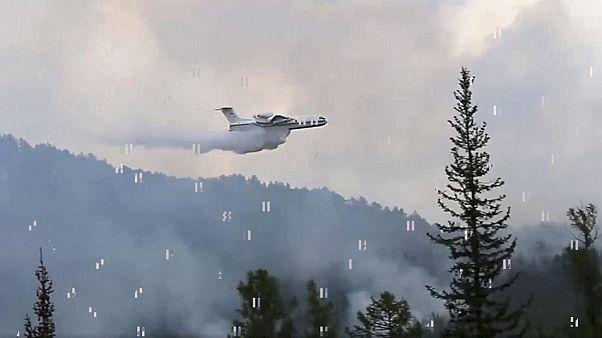 آتشسوزی گسترده در سیبری؛ دود غلیظ به آسمان شهرها رسید