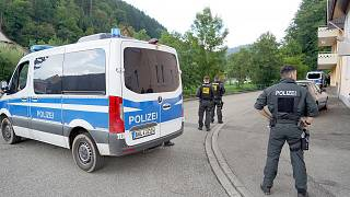 German police spent days searching the Black Forest.