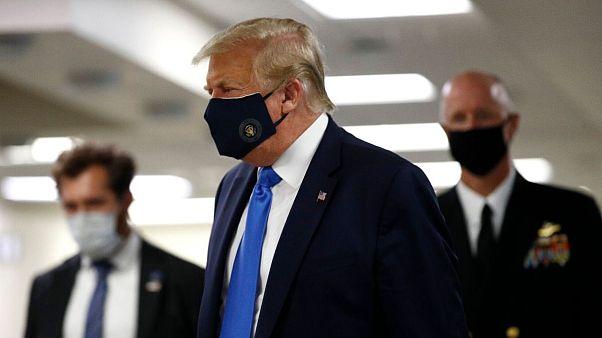 ترامپ زدن ماسک را در آمریکا الزامی نمیکند