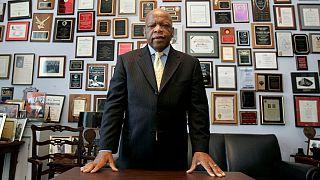 جان لویس، سناتور دموکرات و مبارز حقوق مدنی سیاهان آمریکا در گذشت