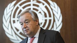 Antonio Guterres, le 7 mai 2019 via AP