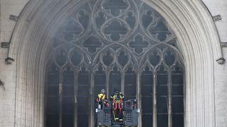 Nantes : qui a mis le feu à la cathédrale?