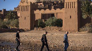 سياح في المغرب