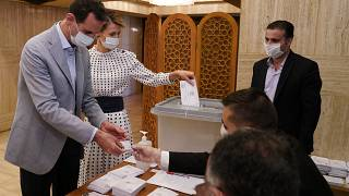 Assad casts ballot in Syrian parliament election
