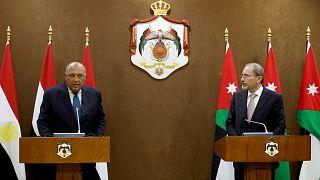 """الأردن ومصر تدعوان إلى """"حل سياسي في ليبيا بعيدا من التدخلات الخارجية"""""""