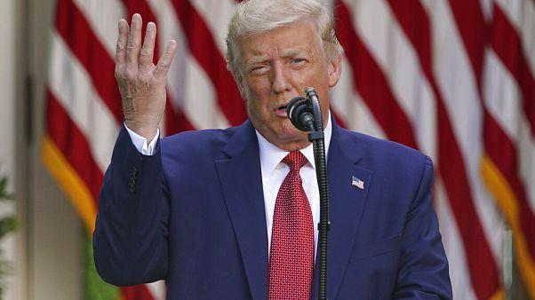 2020 seçim sonuçlarını kabul edecek misiniz? sorusuna Trump: Bakmam lazım, evet ya da hayır diyemem