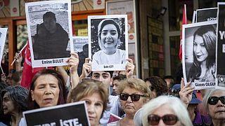 Kadın cinayeti mağdurlarından Türkiye genelinde eylem: İstanbul Sözleşmesi uygulansın