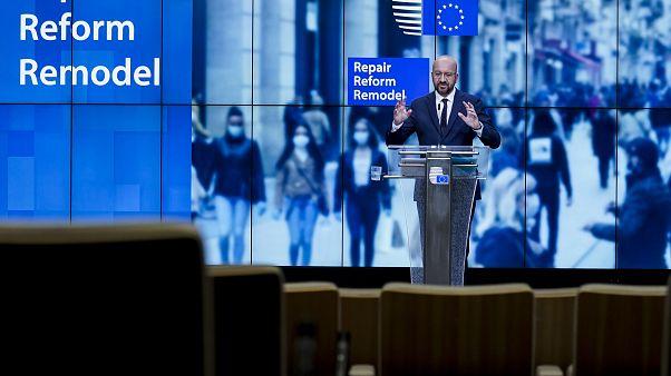 Саммит ЕС превратился в марафон переговоров, выход из ситуации ищет Шарль Мишель, председатель Евросовета