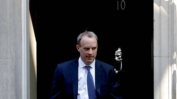 UK foreign minister, Dominic Raab.