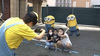 پارک «یونیورسال استودیوز» در ژاپن پس از محدودیتهای قرنطینه بازگشایی شد