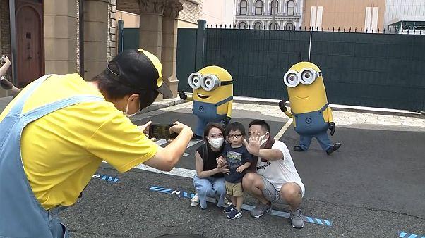 Au Japon, Universal Studios rouvre ses portes