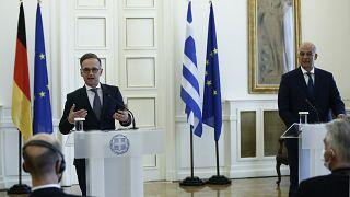 Press Conference by Nikos Dendias and Heiko Maas