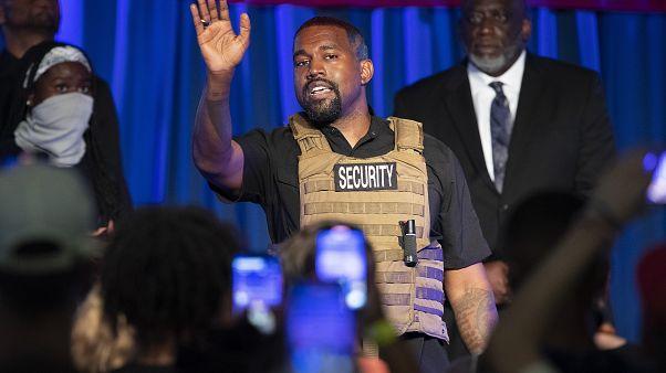 Kanye West lanza su candidatura a presidente de EEUU en un acto de campaña poco convencional