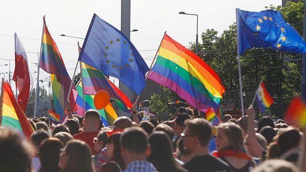 رژه افتخار دگرباشان جنسی در ورشو در سال ۲۰۱۷