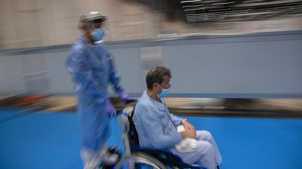 COVID-beteg a járvány idején
