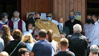 Emoción en el funeral del conductor de autobús fallecido tras una agresión en Bayona