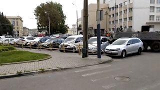 Ukrayna'nın Lutsk kentinde 20 kişi rehin alındı