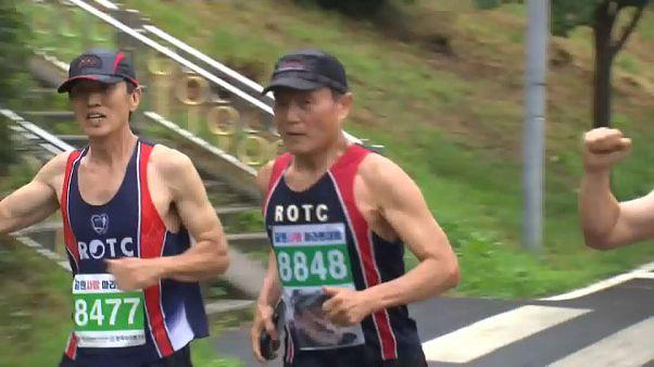 As 210 maratonas de Lee Yeong-gyun