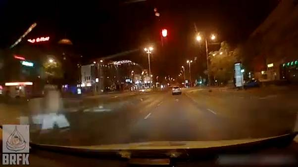 Autósüldözés Budapesten, BRFK felvétele
