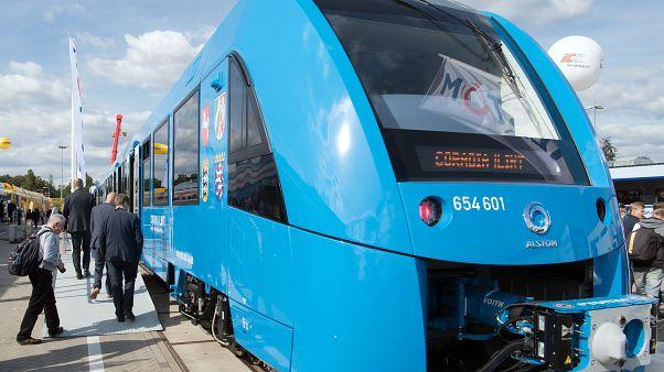 Train à hydrogène d'Alstom - Archive du 20 septembre 2016