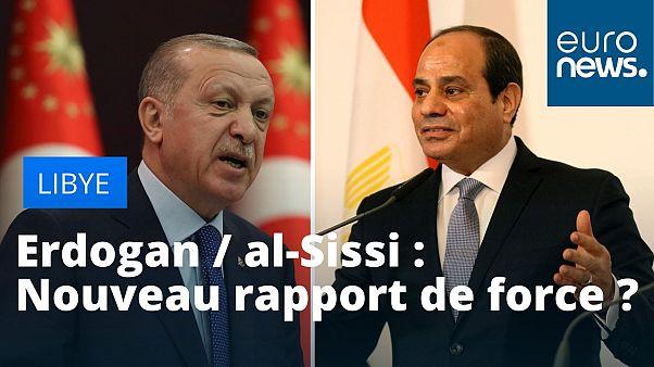 Recep Tayyip Erdogan le 18 mars 2020 et Résultats de recherche Résultats Web  Abdel Fattah al-Sissi le 17 décembre 2018