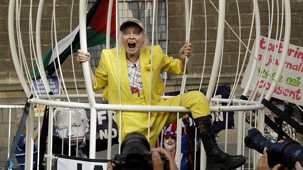 İngiliz modacı Vivienne Westwood