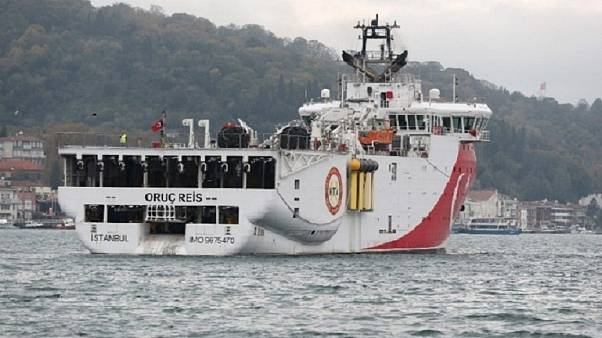 Turkish ship Oruc Reis