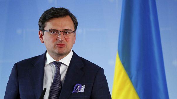 Ukrainian Foreign Minister Dmytro Kuleba