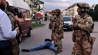 مردی مسلح ۱۶ نفر را در اوکراین گروگان گرفت