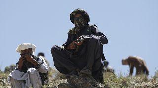 عکس آرشیوی از نیروهای طالبان