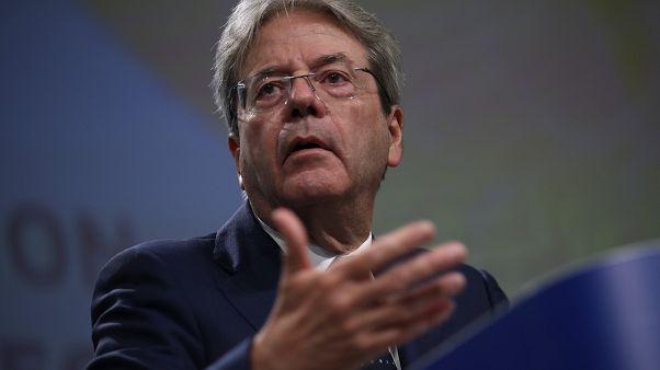 Paolo Gentiloni, comisario de Economía de la Unión Europea