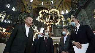 Αγία Σοφία: Αρνήσεις για την προσευχή της Παρασκευής μετρά ο Ερντογάν