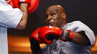 56 yaşındaki Mike Tyson antrenmanlarına tüm hızıyla devam ediyor.