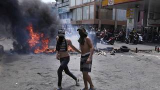 Libanon a csőd szélén