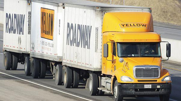 Kanadalı tır şoförleri Covid-19 nedeniyle ABD'ye gitmek istemiyor