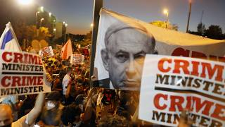 """Протесты в Израиле: """"Нетаньяху в отставку!"""""""