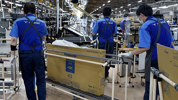Japonya'da bir teknoloji fabrikası