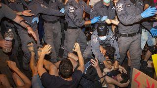 تظاهرات علیه نتانیاهو در بیتالمقدس