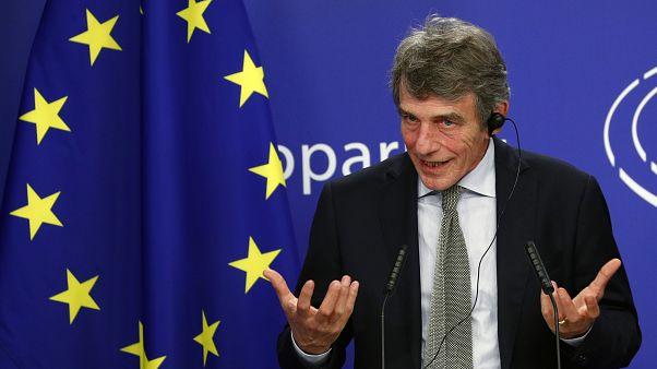 Le président du Parlement européen David Sassoli
