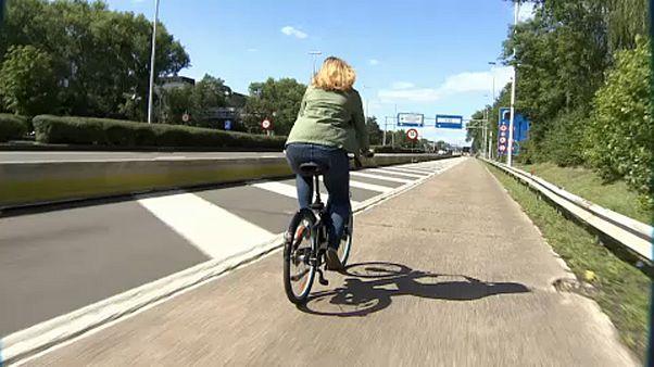 Bruselas inaugura su primera autopista para bicicletas