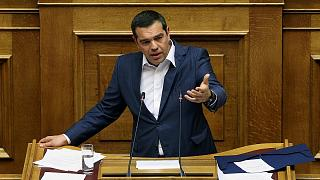 SYRIZA'nın lideri Aleksis Çipras