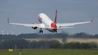 Virus Outbreak Europe air traffic