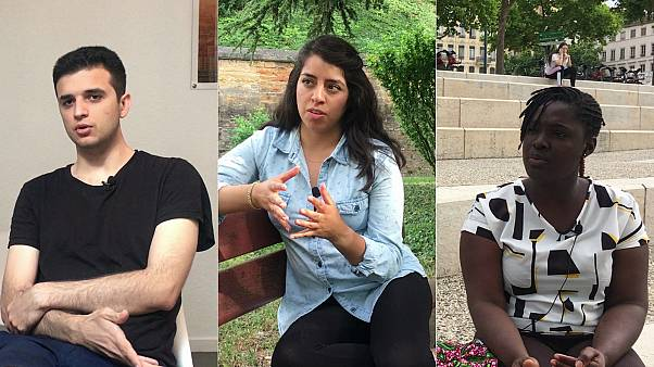 طلبة أجانب مقيمون بفرنسا يتحدثون ليورونيوز